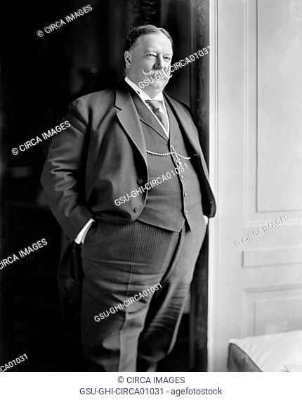 U.S President William Howard Taft, Portrait, circa 1910
