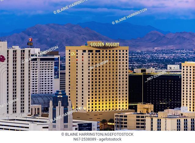 Golden Nugget Casino, Downtown Las Vegas, Nevada USA