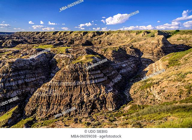 Canada, Alberta, Canadian Badlands, Red Deer River Valley, Drumheller, North Dinosaur Trail, Horsethief Canyon