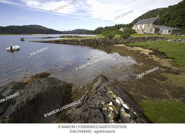 Shoreline near Castle Tioram