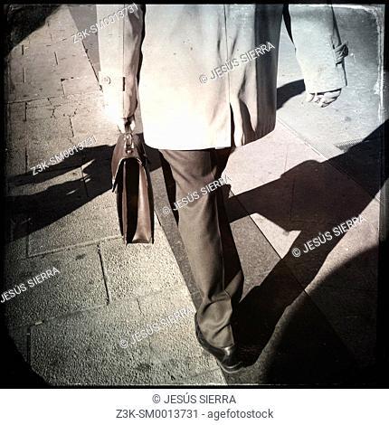 Businessman in Madrid, Spain