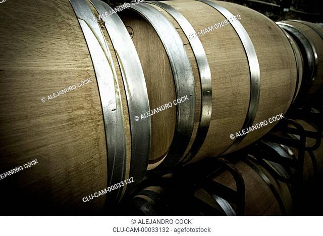 Wine Warehouse, Tarragona, Barcelona, Catalonia, Spain, Europe
