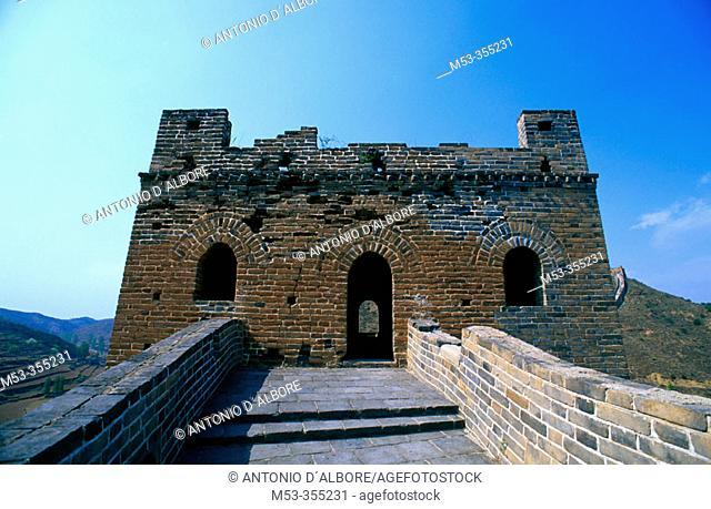 Simatai section, Great Wall, Beijing Municipality. China