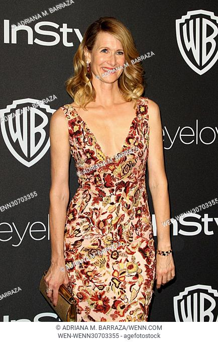 InStyle & Warner Bros. Pictures Golden Globes After Party 2017 held at the Beverly Hilton Hotel Featuring: Laura Dern Where: Los Angeles, California