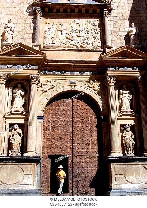 St  Mary's collegiate church, Santa Maria de los Sagrados Corporales, Daroca  Zaragoza province, Aragón, Spain