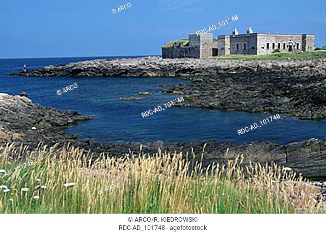 Fort Quesnard Alderney Channel Islands Great Britain