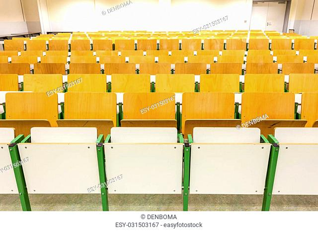 This auditorium is in the university of Ghent