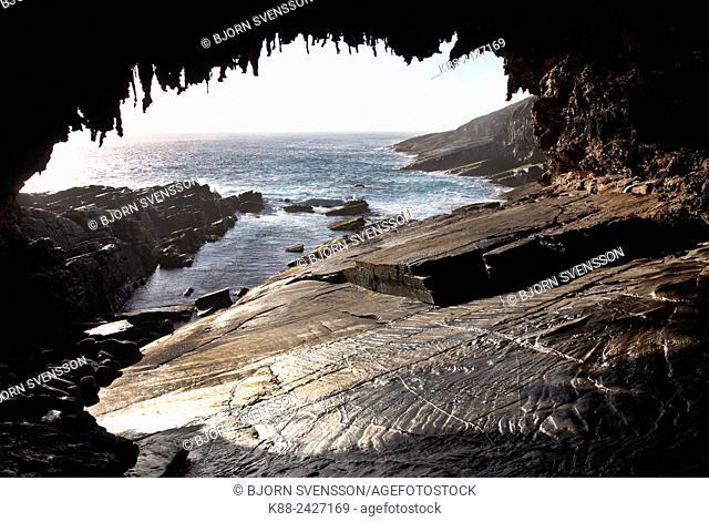 Admirals Arch at Cape Du Couedic. Kangaroo Island, South Australia