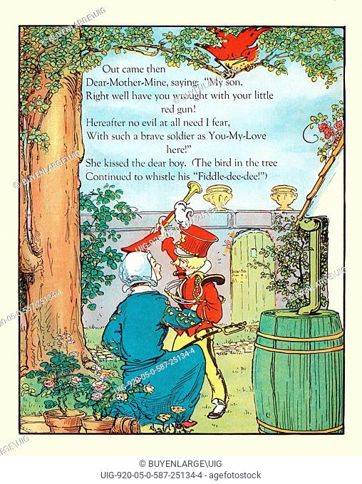 A selection from a children's story entitled Fiddle Dee Dee