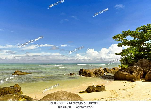 Sandy beach, Nosy Nato, East Coast, Madagascar