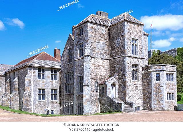 Carisbrooke Castle, Isle of Wight, England, UK