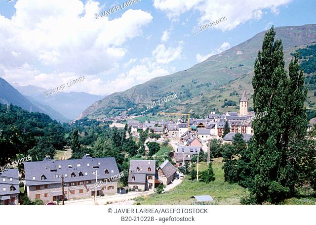 Salardú. Vall d'Aran. Lleida. Spain