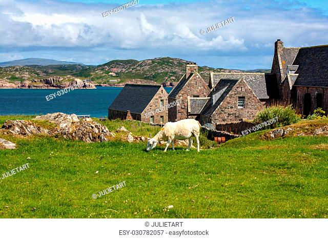Iona Abbey, Scotland Iona Abbey is located on the Isle of Iona, just off the Isle of Mull on the West Coast of Scotland. It is one of the oldest and most...