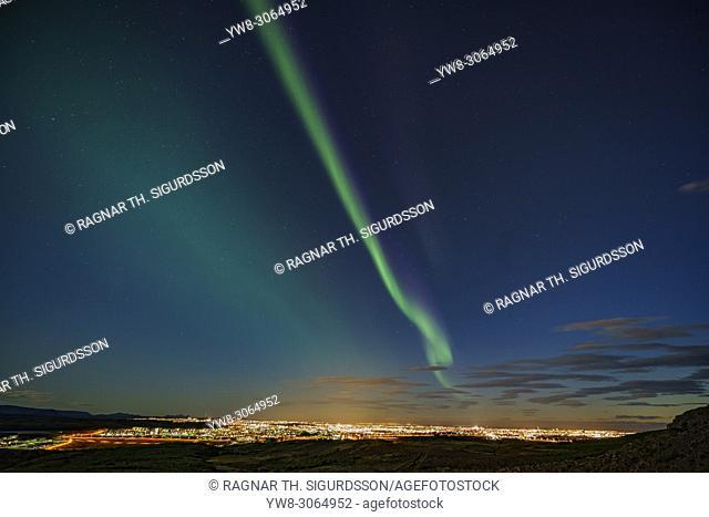Aurora Borealis, Reykjavik, Iceland