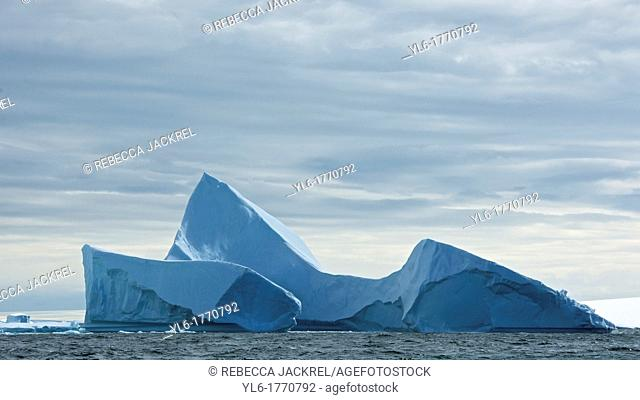 Iceberg in Iceberg Alley of the Lemaire Channel, Antarctic Peninsula