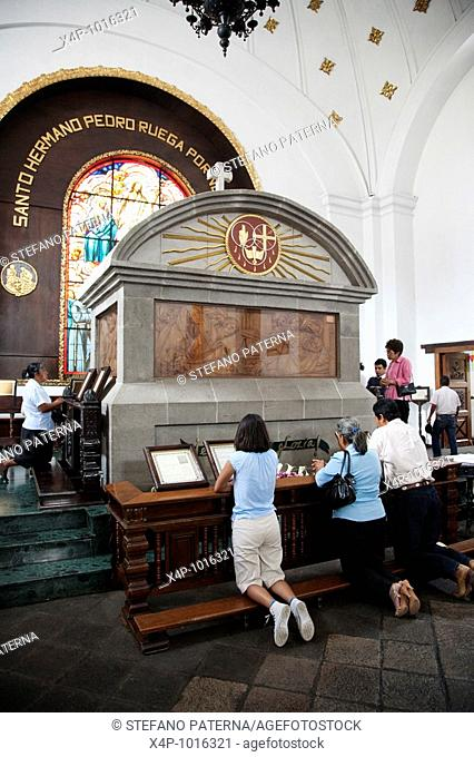 Tomb of Saint Hermano Pedro in the Convent and Church of San Francisco in Antigua Guatemala