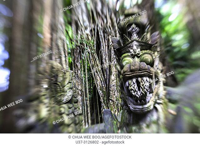 Sacred monkey forest sanctuary, Padangtegal, Ubud, Bali