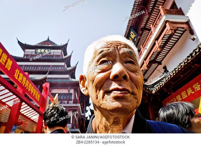 Yuyuan Bazaar or Old Town, Hangpu District, Shanghai, China, Asia