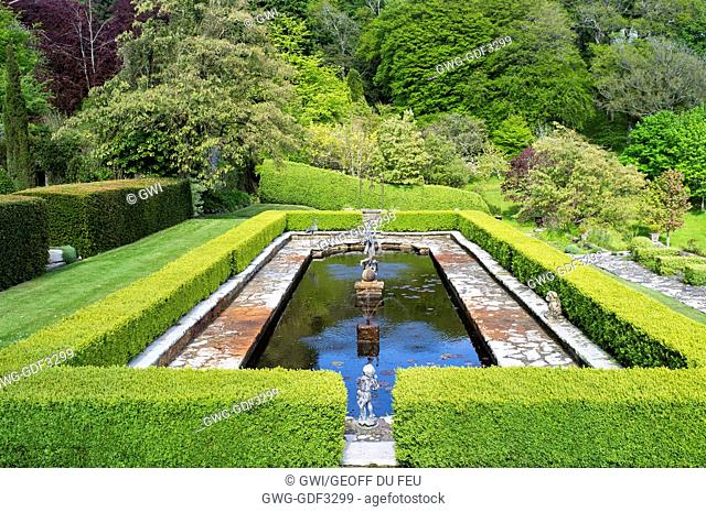 GARDEN POND AND PARK - PENRICE HOUSE WALES