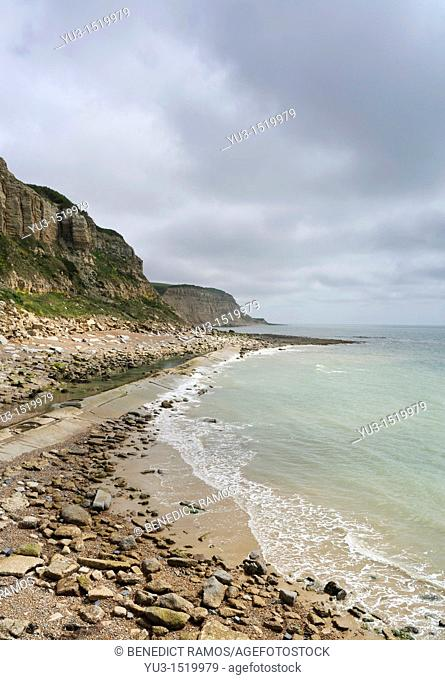 South coast of England near Hastings, East Sussex, England, UK