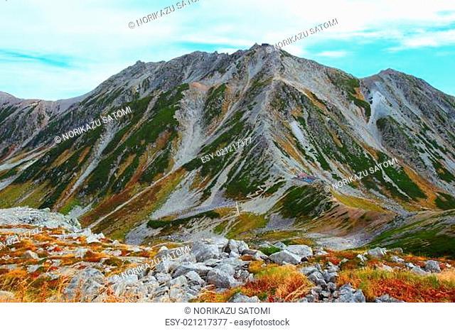Autumn Mt.Tateyama