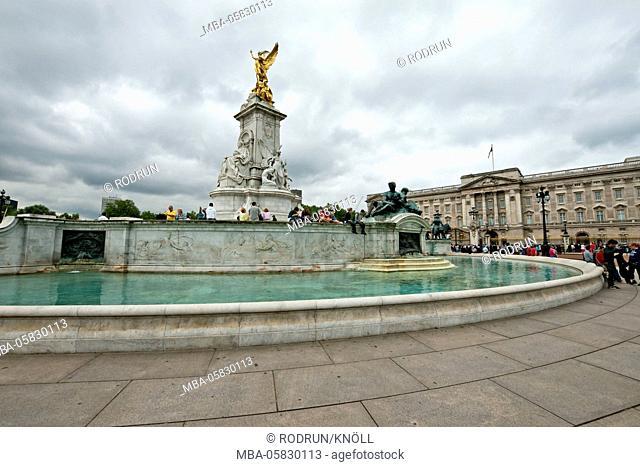 Great Britain, London, 'Queen Victoria Memorial', Buckingham Palace