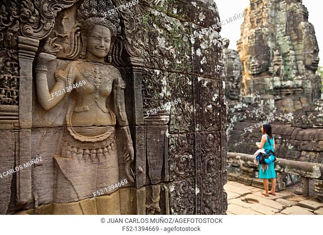 Apsara and Face-to