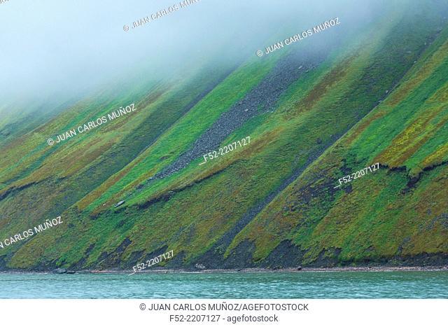 Isfjorden, Svalbard Islands, Artic Ocean, Norway, Europe