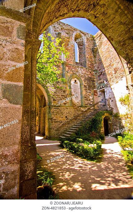 Abbaye Maritime de Beauport, Paimpol, Brittany