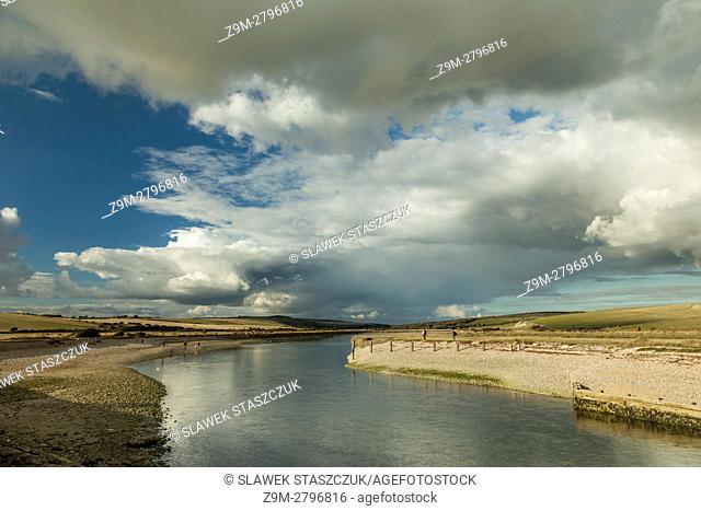Cuckmere Haven, South Downs National Park, East Sussex, England