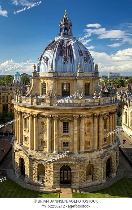 Radcliffe Camera - Science Library, Oxford, Oxfordshire, England