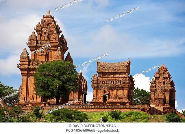 Cham Temple, Po Klaung Garai, Vietnam, Asia
