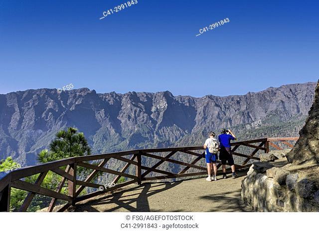 La Cumbrecita. PN. de la Caldera de Taburiente. Island of La Palma. Canary Islands. Spain