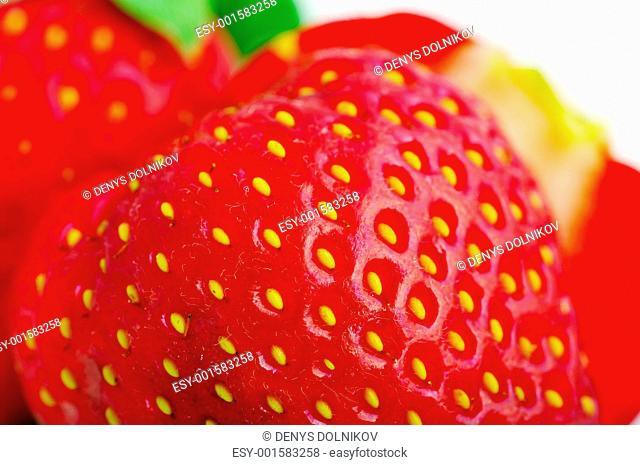 Close up of a strawberry