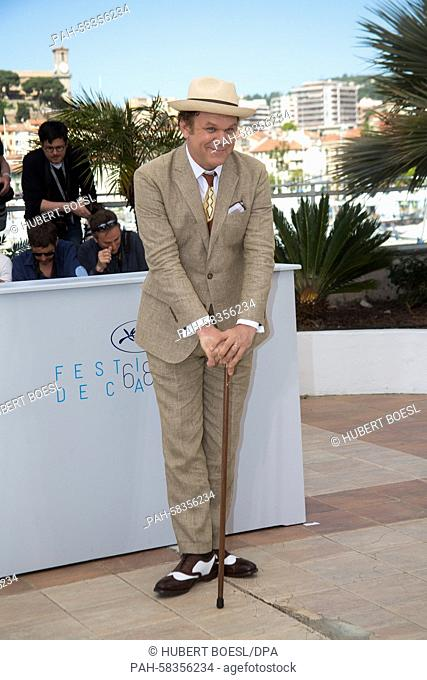 Actor John C. Reilly attends the photo call of The Lobster at the 68th Annual Cannes Film Festival at Palais des Festivals in Cannes, France, on 15 May 2015