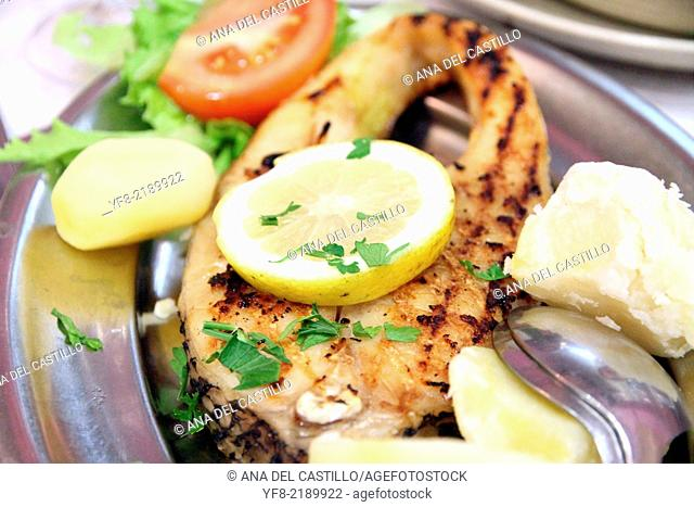 Grilled fish Portugal