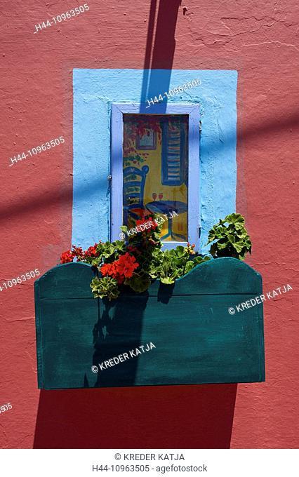 Greece, Europe, Cyclades, island, isle, islands, Greek, outside, Mediterranean Sea, day, nobody, Santorin, Santorini, Firostefani, house, home, building