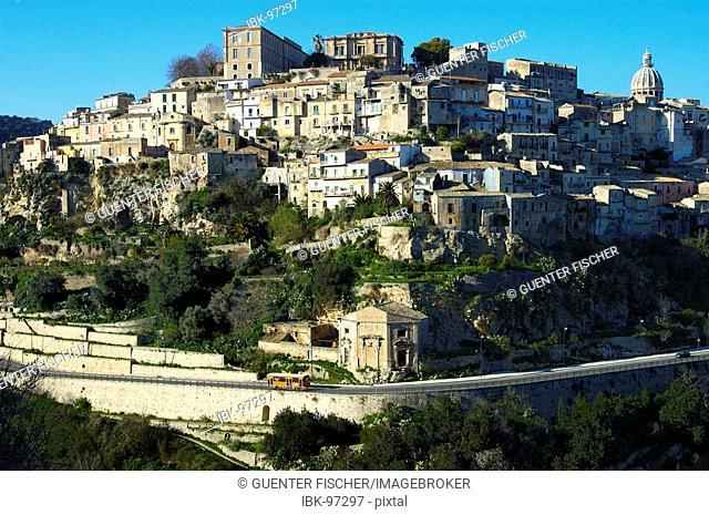 Ragusa Ibla Cathedral San Giorgio Sicily Italy