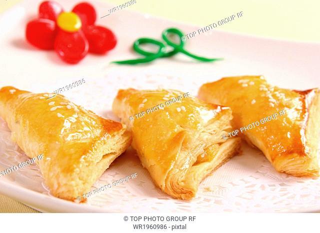 Crispy Durian Pastry