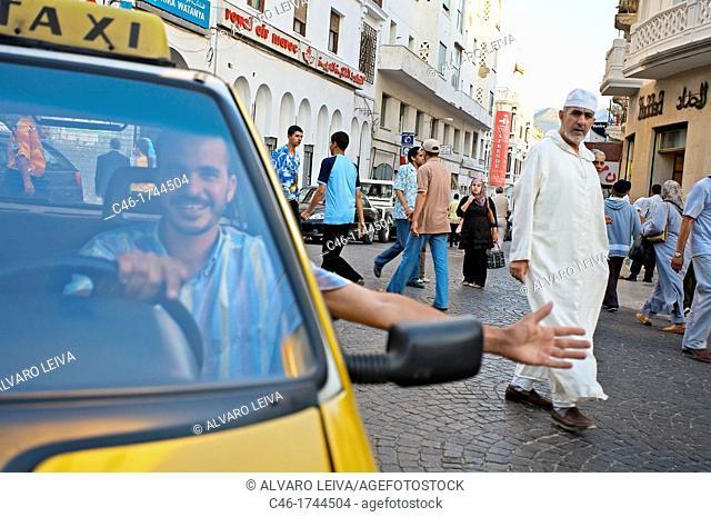 Taxi, Tetouan  Rif region, Morocco