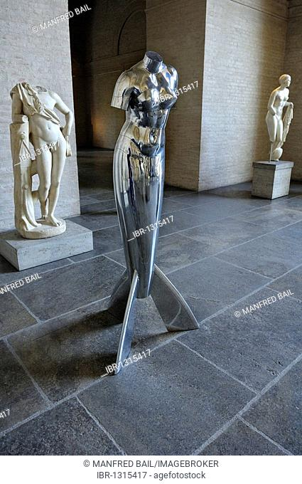 Christoph Bergmann's Mythos in Metall, Glyptothek museum, Munich, Bavaria, Germany, Europe