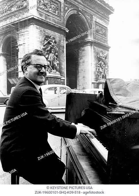 Apr 01, 1968 - London, England, United Kingdom - Michel Briguet (Credit Image: KEYSTONE Pictures USA/ZUMAPRESS.com)