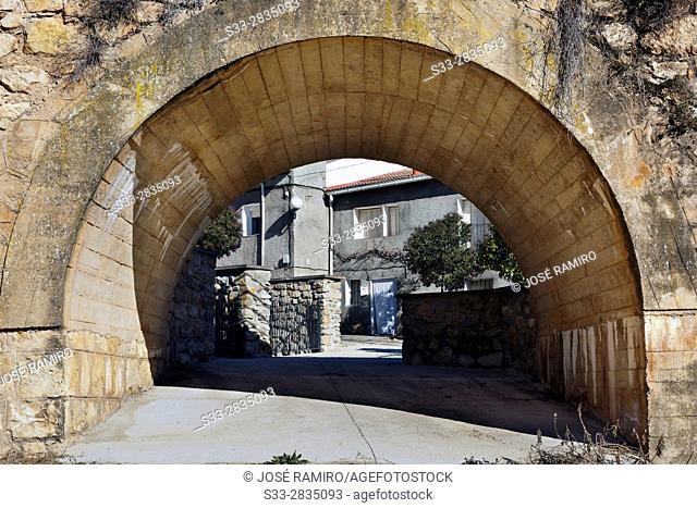 Puente en Guadalajara. Castilla la Mancha. Spain. Europe