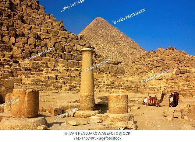 The Great Pyramids, Giza, Egypt