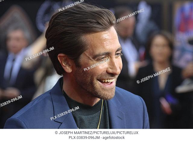 """Jake Gyllenhaal at Columbia Pictures' and Marvel Studios' """"""""Spider-Man Far From Home"""""""" World Premiere held at the TCL Chinese Theatre in Hollywood, CA, June 26"""