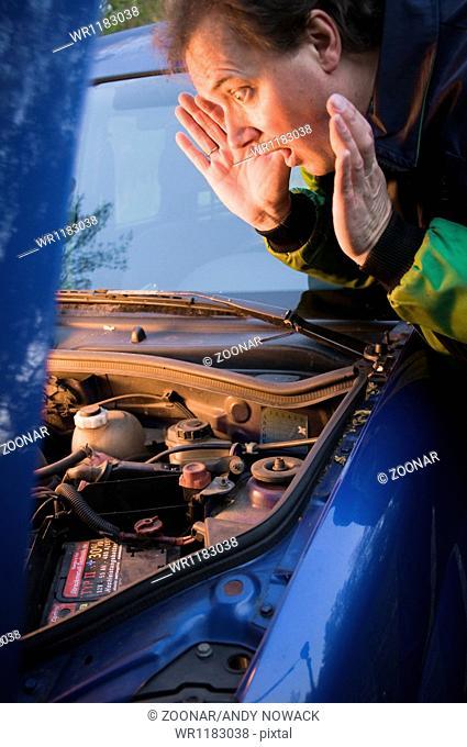 shocked mechanic