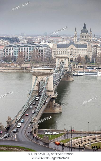 Spanning the Danube between Clark Ã. dám tér (Buda side) and Széchenyi István tér (Pest side), the Chain Bridge (Lánchid) was the first to permanently connect...