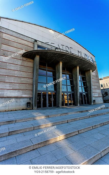 Theater in Balaguer. LLeida. Spain