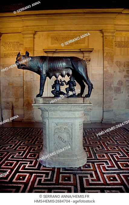 Italy, Latium, Rome, Capitolium Museums, listed as World Heritage by UNESCO