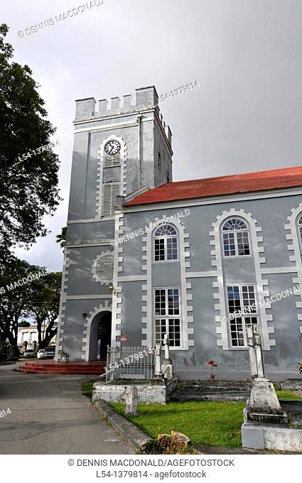 St  Mary's Church Anglican Bridgetown Barbados Caribbean Cruise NCL